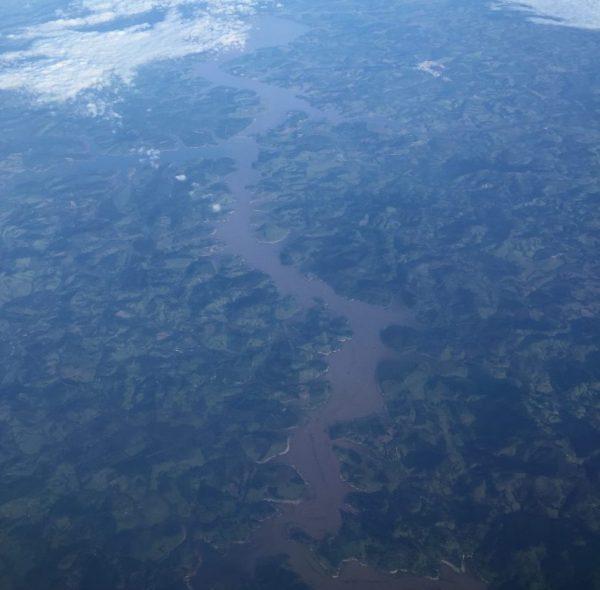La forêt amazonienne vue du ciel, Brésil