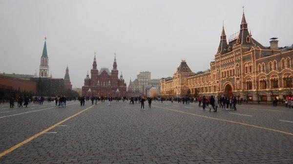 La place Rouge à Moscou, fin octobre