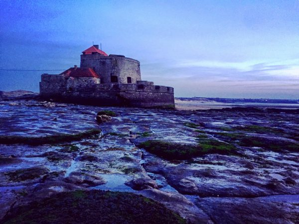 Le fort d'Ambleteuse dans le nord de la France