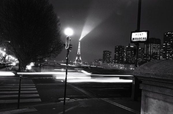 Les quais de Seine et le pont Mirabeau