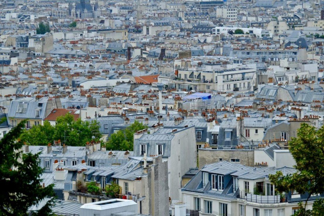 L'une des plus belles vues sur Paris depuis Montmartre