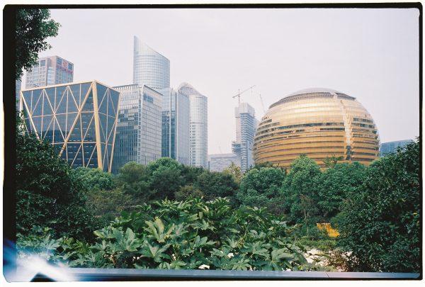 L'impressionnant quartier d'affaire d'Hangzhou, site accueillant le G20 en 2016
