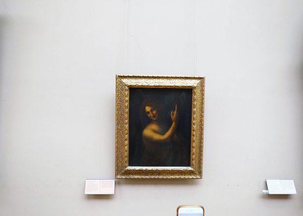 L'une des merveilles du monde le Saint Jean-Baptiste de Léonard de Vinci