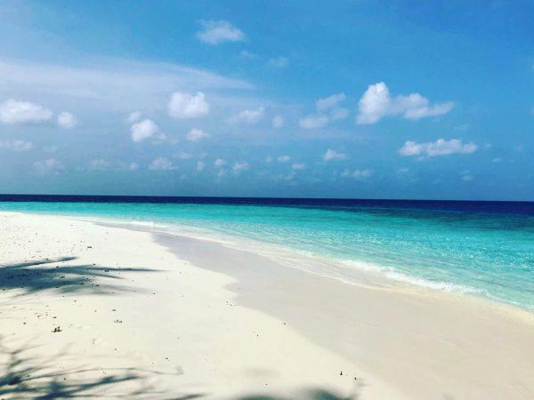 Quelque part dans l'océan Indien, escale dans l'archipel des Maldives
