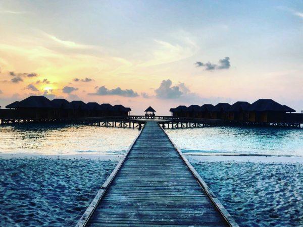 Un lagon et toute la sérénité du monde, les Maldives