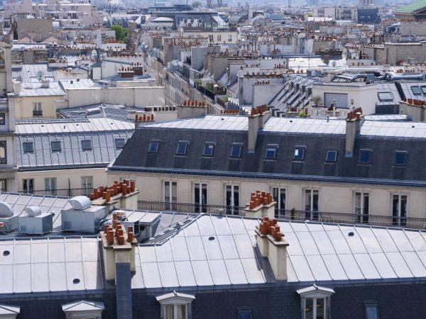 Les toits de Paris l'un des endroits souvent oubliés des classements