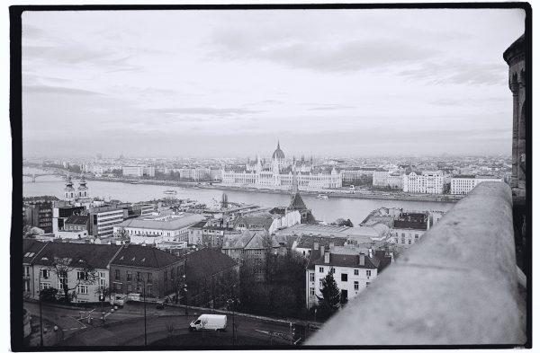 Vue panoramique de Budapest