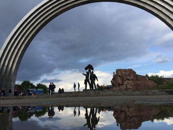 Voyage à Kiev au pied de l'arche de l'Amitié