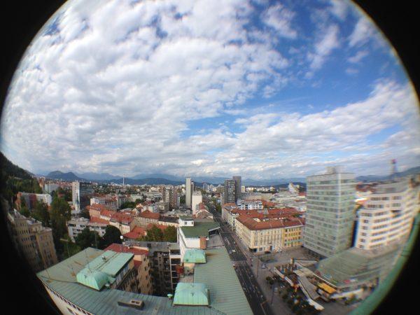 Vue sur Ljubljana, l'une des plus belles villes d'Europe de l'Est