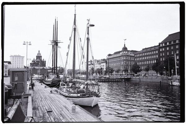 Balade sur le port d'Helsinki