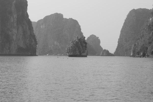 Les méandres de la baie d'Halong