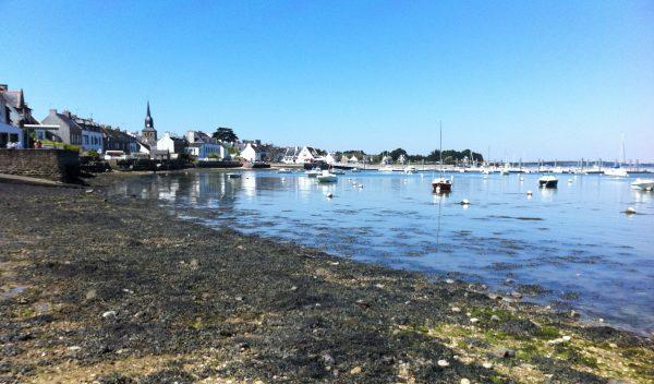 La baie du Morbihan du côté de Locmariaquer