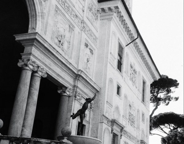 Un palais appartenant à la France en Italie