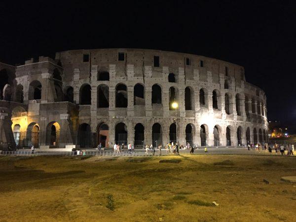Balade à Rome la nuit