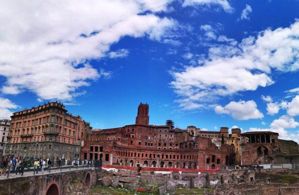 Un des plus vieux marchés du monde à Rome