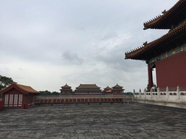 Visite de la Cité interdite lors d'une escale à Pékin