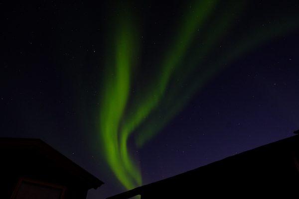 La Norvège un endroit où il y a beaucoup d'aurores boréales
