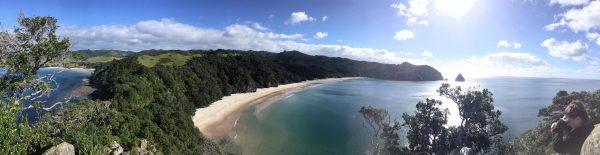 Une splendide baie en Nouvelle-Zélande
