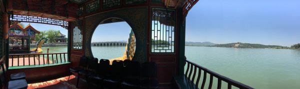 A la découverte de l'immense parc Parc du Palais d'été à Pékin