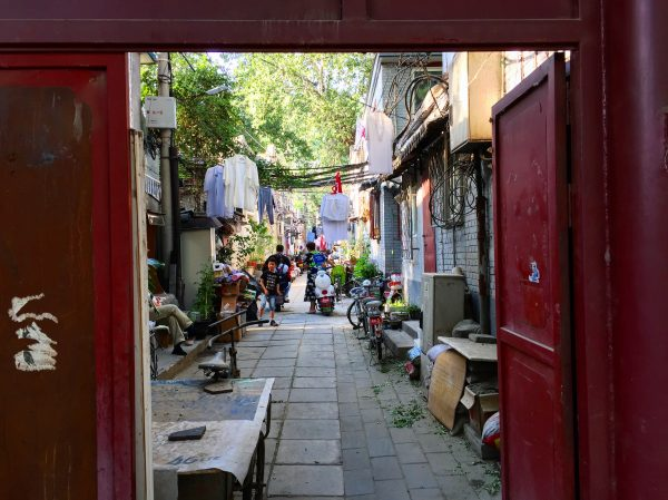 Les hutongs, quartiers traditionnels chinois