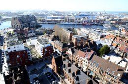 Dunkerque une grande ville du nord de la France