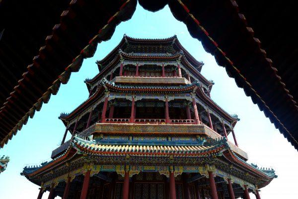 La tour d'encens, un lieu du bouddhisme, Pékin