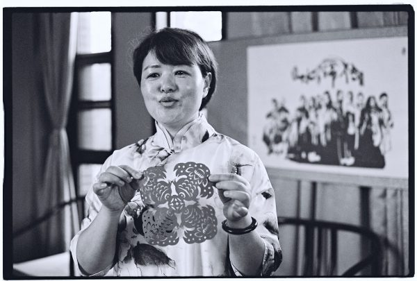 Rencontre culturelle à la bibliothèque de Hefei en Chine