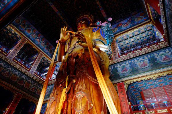 Un lieu émouvant à Pékin, le temple des Lamas