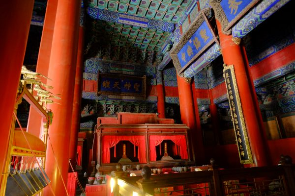 Sérénité au cœur du temple de Confucius