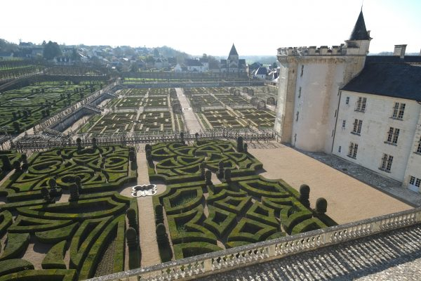 Le château de Villandry dans l'Indre et Loire