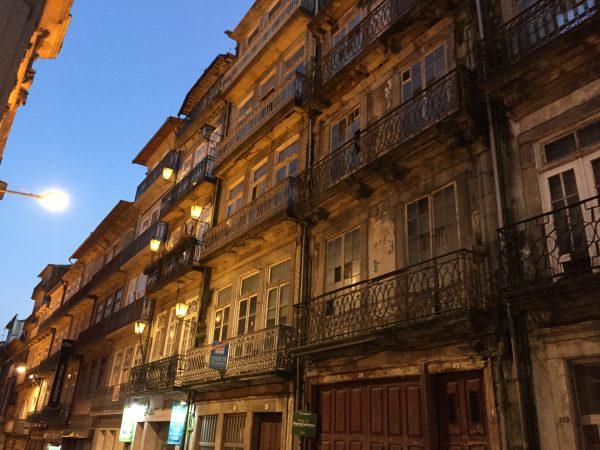 Porto au crépuscule