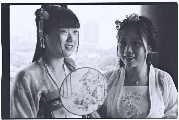 Portrait de 2 chinoises à Wuhan