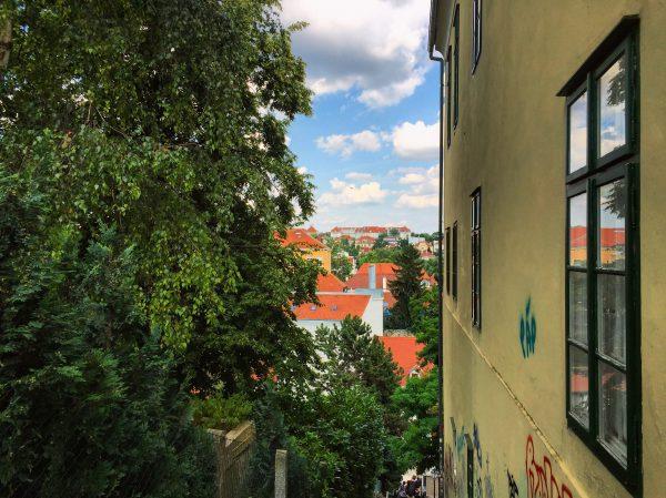S'élever dans la ville de Zagreb au prix d'un effort physique