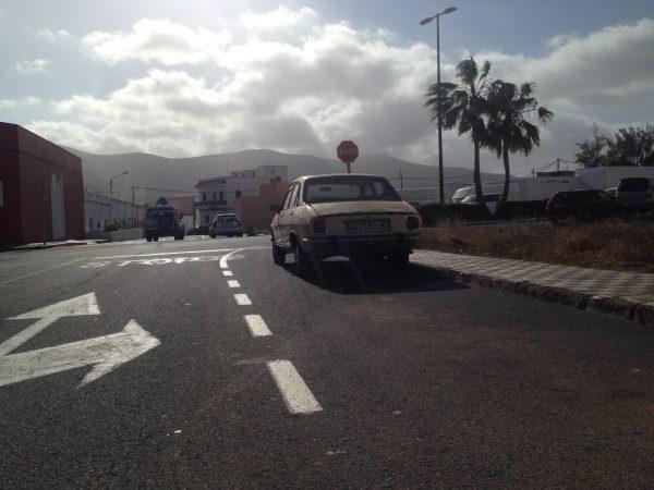 La Olivia une ville endormie dans le nord de Fuerteventura