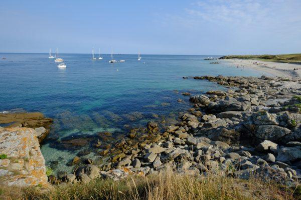 Le Sud de l'île d'Hoëdic, un lieu tout à fait splendide