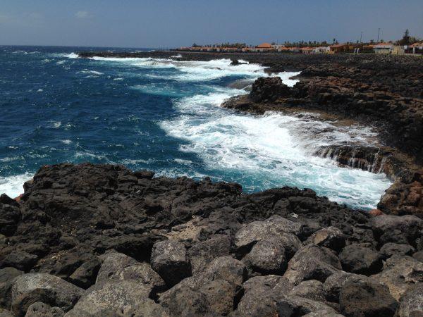 Gran Tarajal à l'est de l'île de Fuerteventura