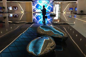 Le Show Room de Huawei en Chine