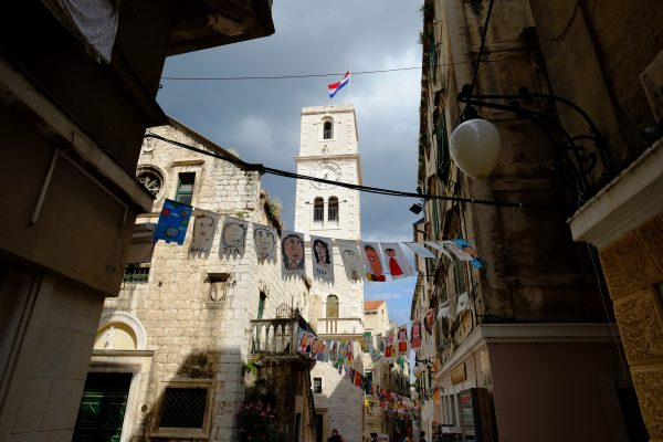 Sibenik, ses ruelles, ses églises