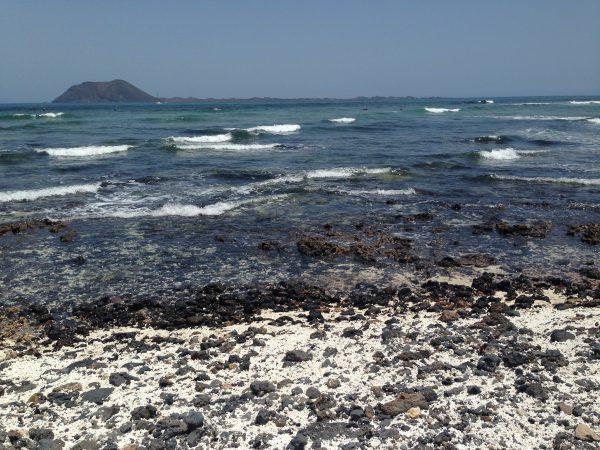 Dans le nord-est de Fuerteventura