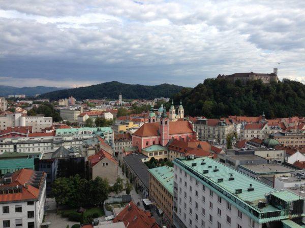 La ville la plus colorée de Slovénie