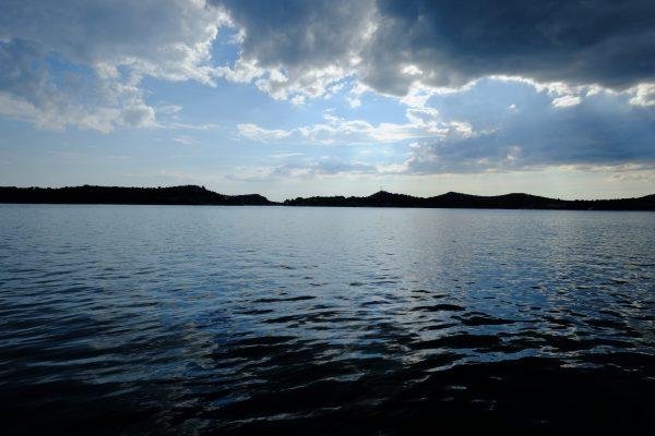 Une vue sur la baie de Sibenik