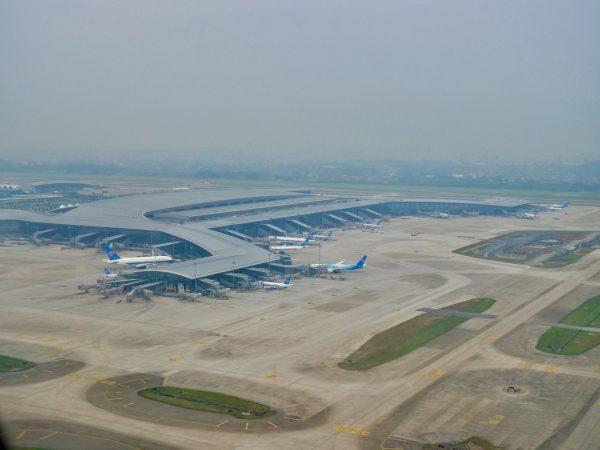 L'aéroport de Canton, l'un des plus grands aéroports de Chine
