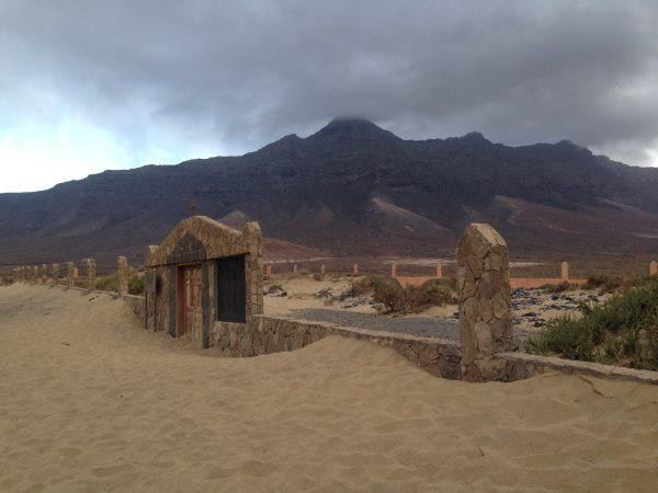 Cofete et son petit cimetière abandonné