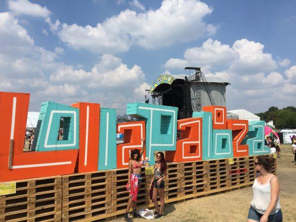 Lolapalooza à longchamps au mois de juillet