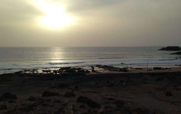 El Cotillo, un spot de surf fabuleux mais venteux