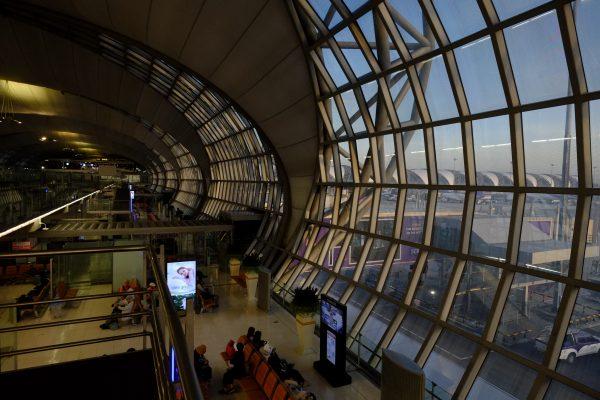 L'impressionnant aéroport de Bangkok