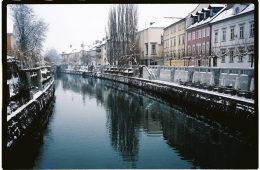 Ljubljana sous la neige