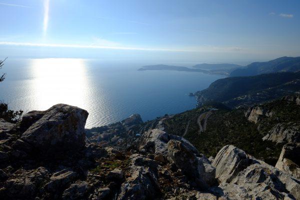 Une vue sensationnelle depuis la Turbie