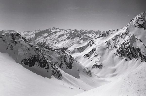 Panorama sur le Tyrol et les alpes autrichiennes