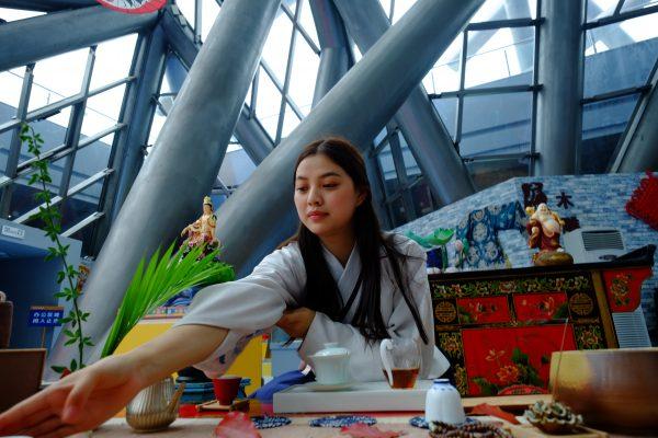Cérémonie du Thé à Hefei, province de l'Anhui